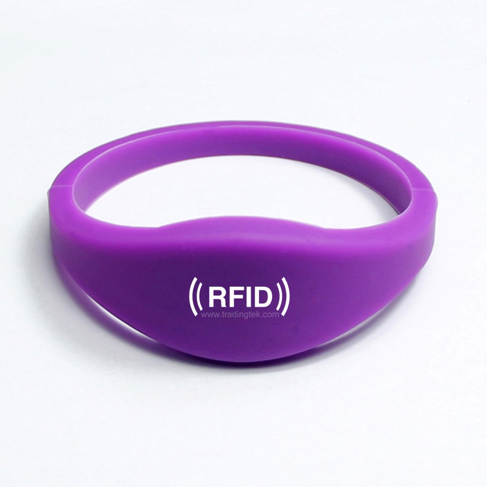 in wristband chip silicone read access only tag cards control with proximity card rfid item id bracelet smart from for