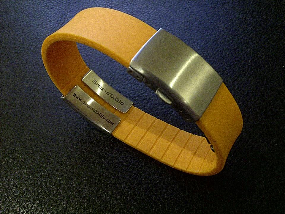 SportsTagID is known as the original Medical ID Bracelets